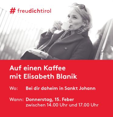 Auf einen Kaffee mit Elisabeth Blanik