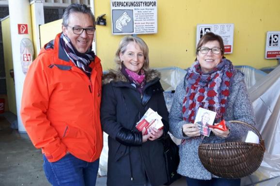 Mit Claudia Hagsteiner auf Wahlkampftour